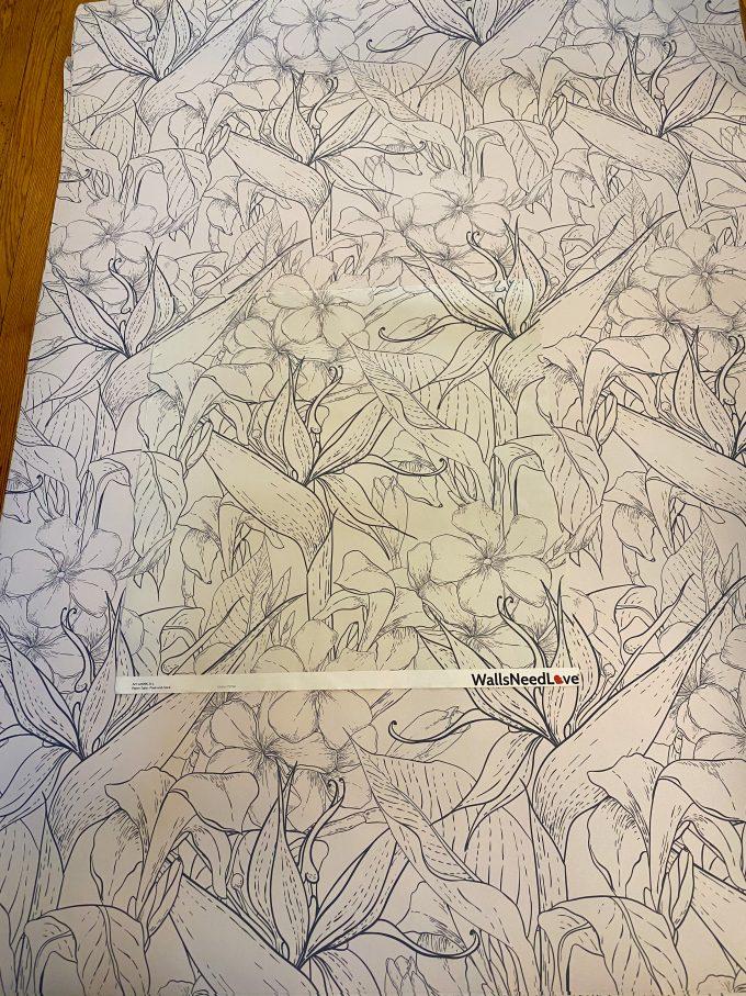 sample of wallpaper