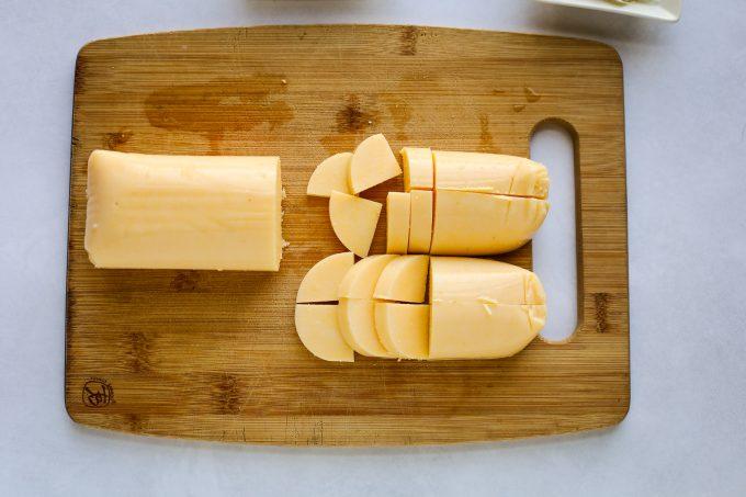 sliced polenta