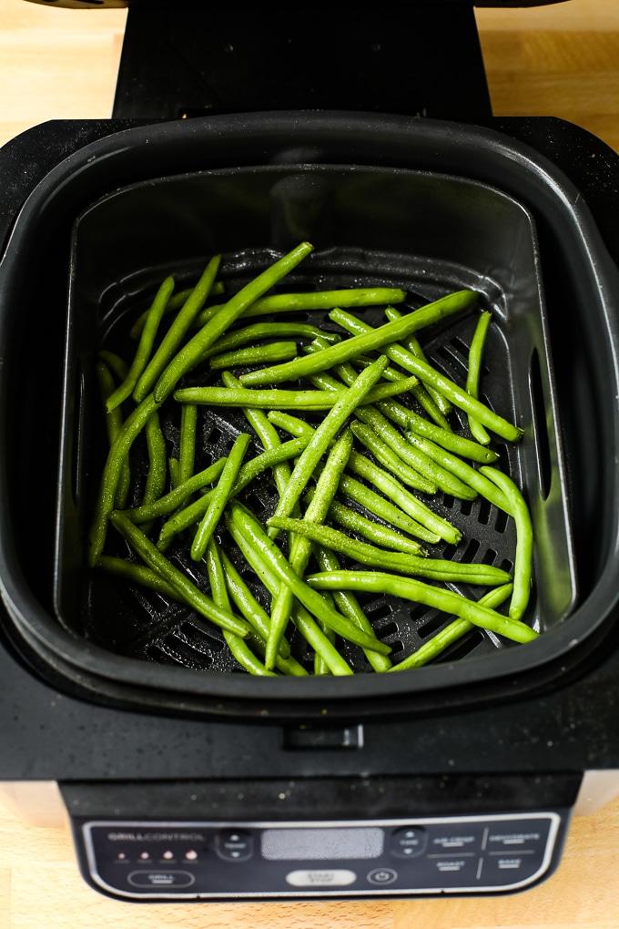 green beans in an air fryer