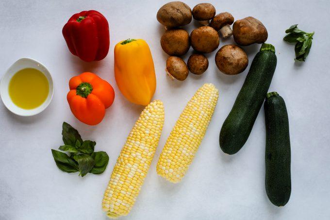 vegetables for kabobs