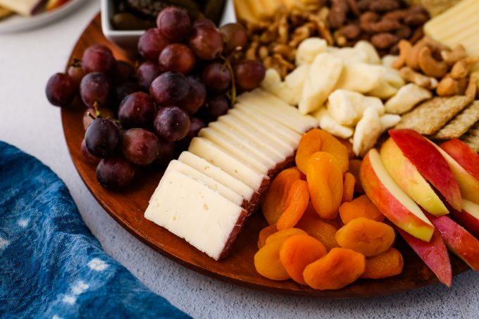 cheeseboard with nuts