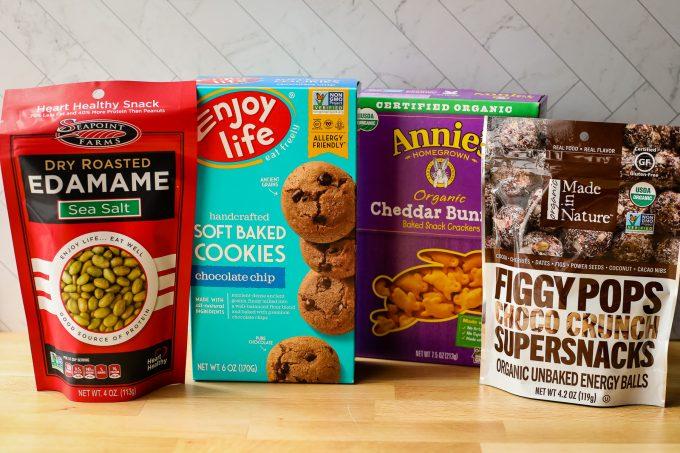 snacks from iherb