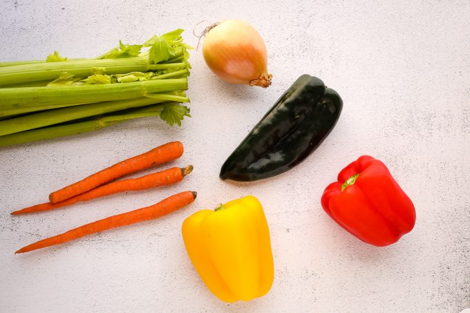 colorful vegetables on a table