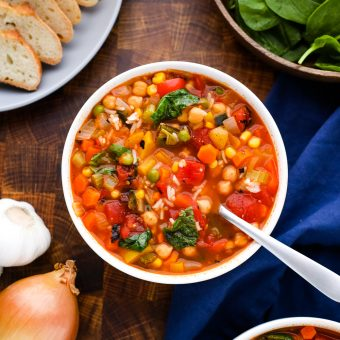 10 Vegetable Soup Recipe